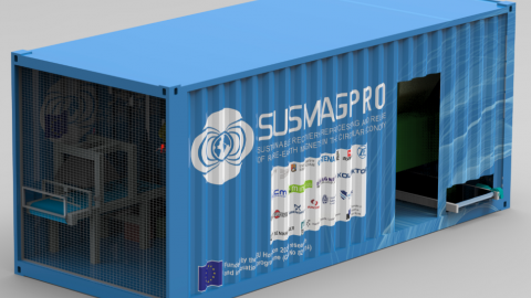 SUSMAGPRO container with automated separation system